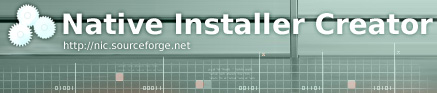 Native Installer Creator